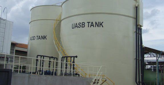 راکتور پتوی لجن بی هوازی با جریان رو به بالا (UASB) – Upflow anaerobic sludge blanket digestion